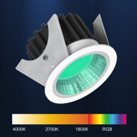 BLE BlueTooth Smart RGB LED light fitting